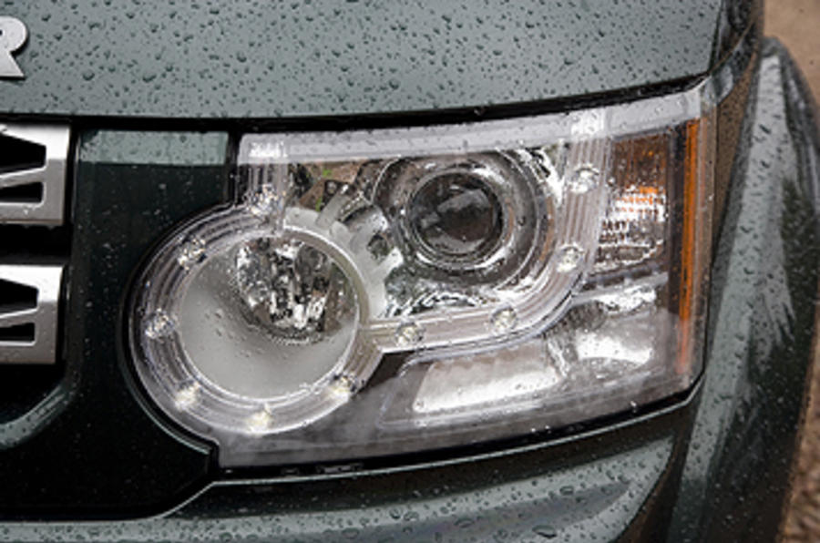 Land Rover Discovery 4 headlights