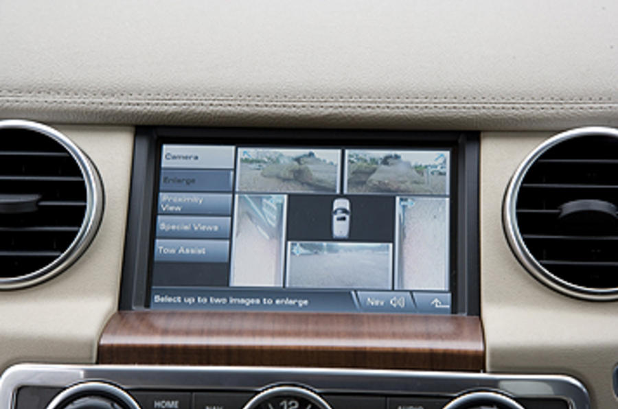 Land Rover Discovery 4 infotainment