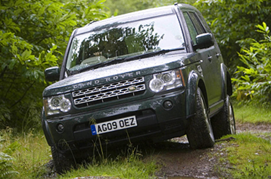 Land Rover Discovery 4 green laning