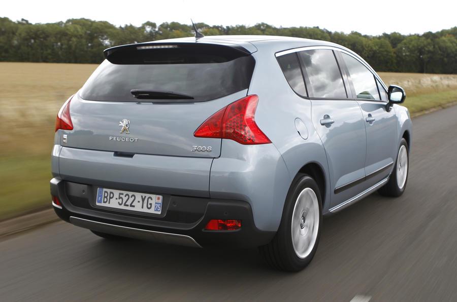 Peugeot 3008 rear