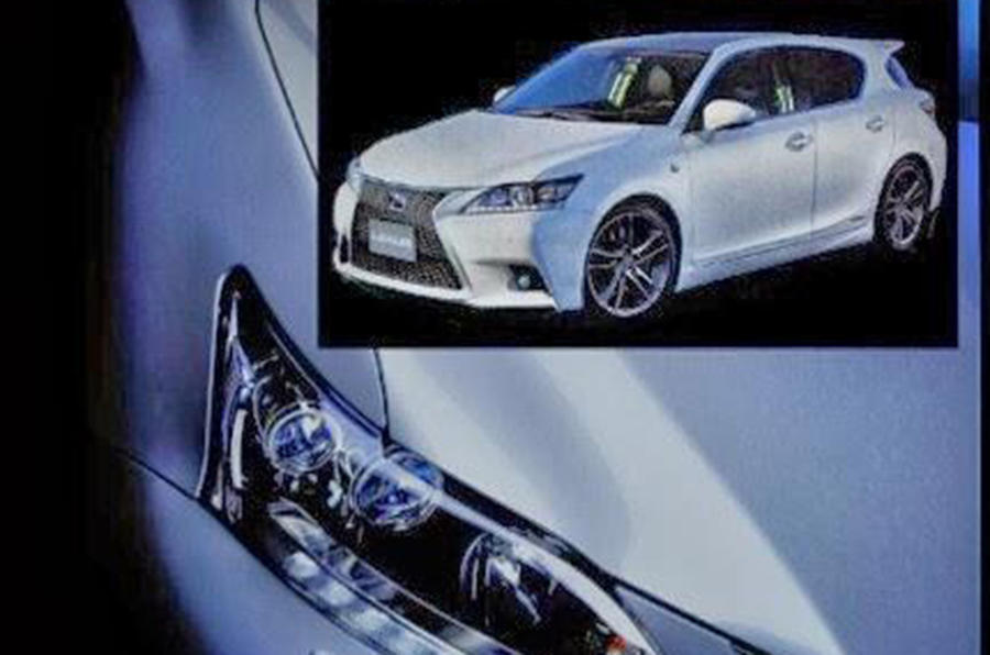 Leaked images reveal new Lexus CT200h