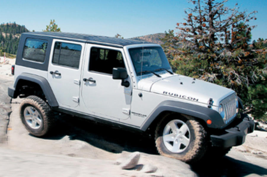 Jeep Wrangler 3.8 V6 Unlimited