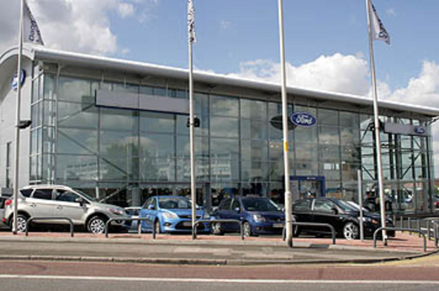 New car sales 'down in 2010'