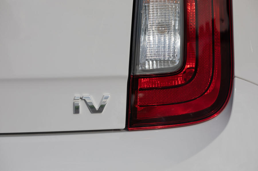 SKoda Citigo-e IV 2020 road test review - rear lights
