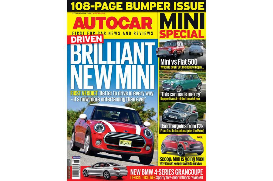 Autocar magazine 5 February preview