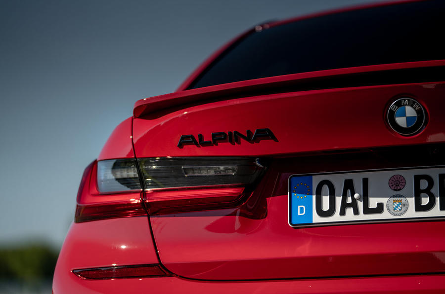 Alpina B3 2020 road test review - rear lights