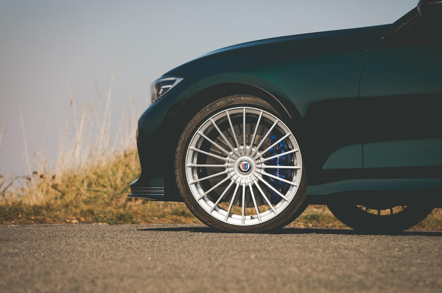 Alpina B3 Touring 2020 road test review - alloy wheels