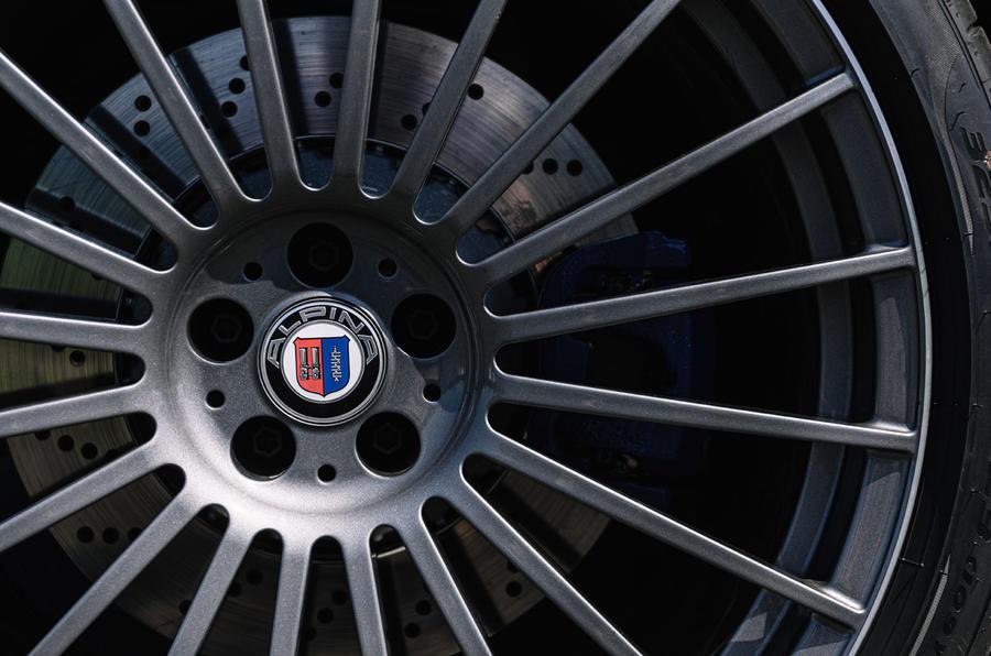 Alpina XB7 2020 road test review - alloy wheels