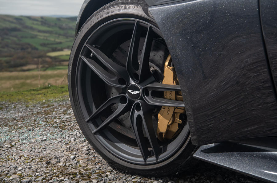 Aston Martin DBS Superleggera 2018 road test review - alloy wheels