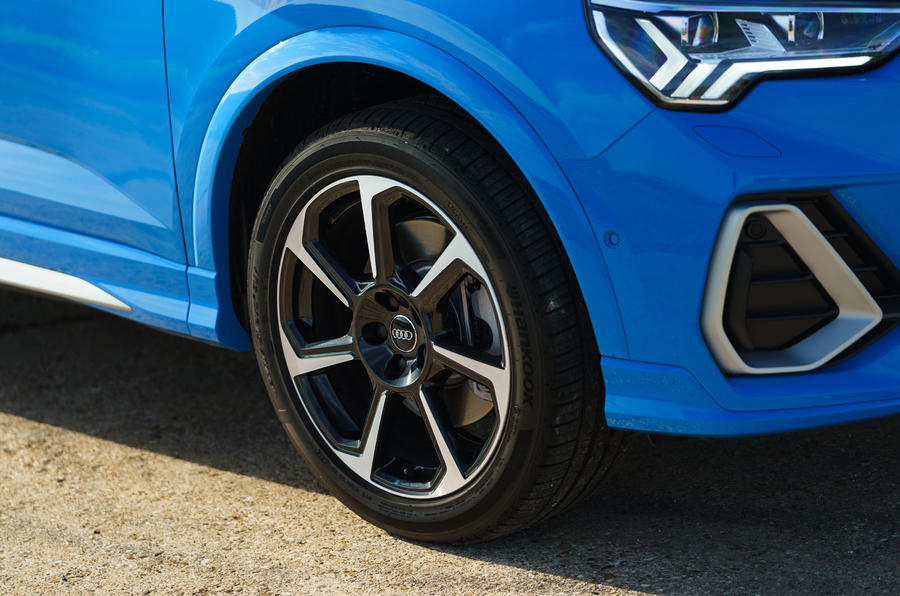 Audi Q3 Sportback 2019 road test review - alloy wheels