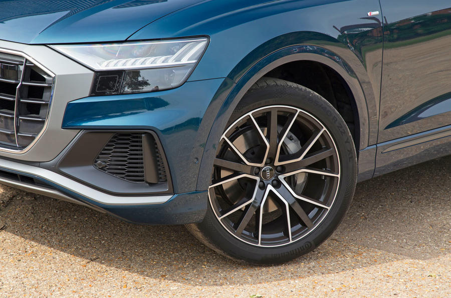 Audi Q8 50 TDI Quattro S Line 2018 road test review - alloy wheels