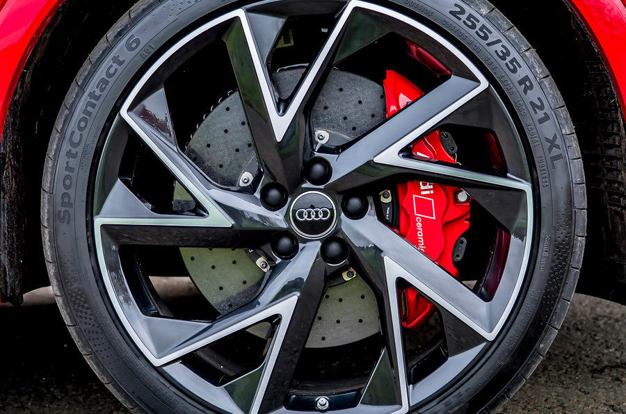 Audi RS Q3 2020 road test review - alloy wheels