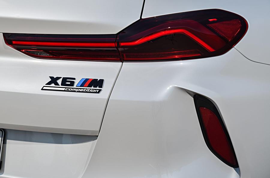 BMW X6 M Competition 2020 : révision de l'essai routier - feux arrière