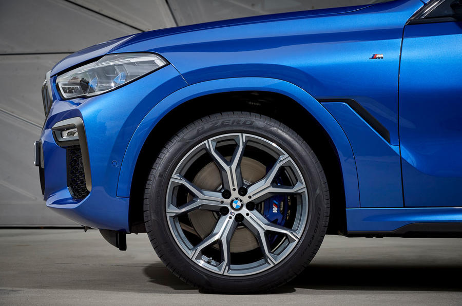BMW X6 M50i 2019 road test review - alloy wheels