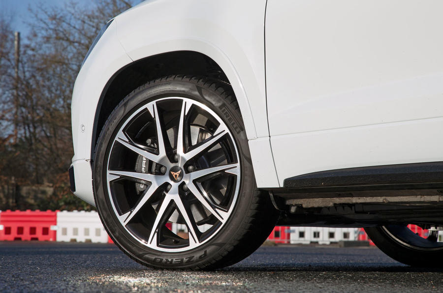 Cupra Ateca 2019 road test review - alloy wheels