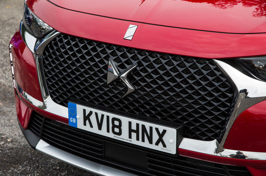 DS 7 Crossback 2018 road test review front grille