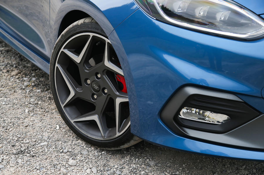 Ford Fiesta ST 2018 road test review alloy wheels