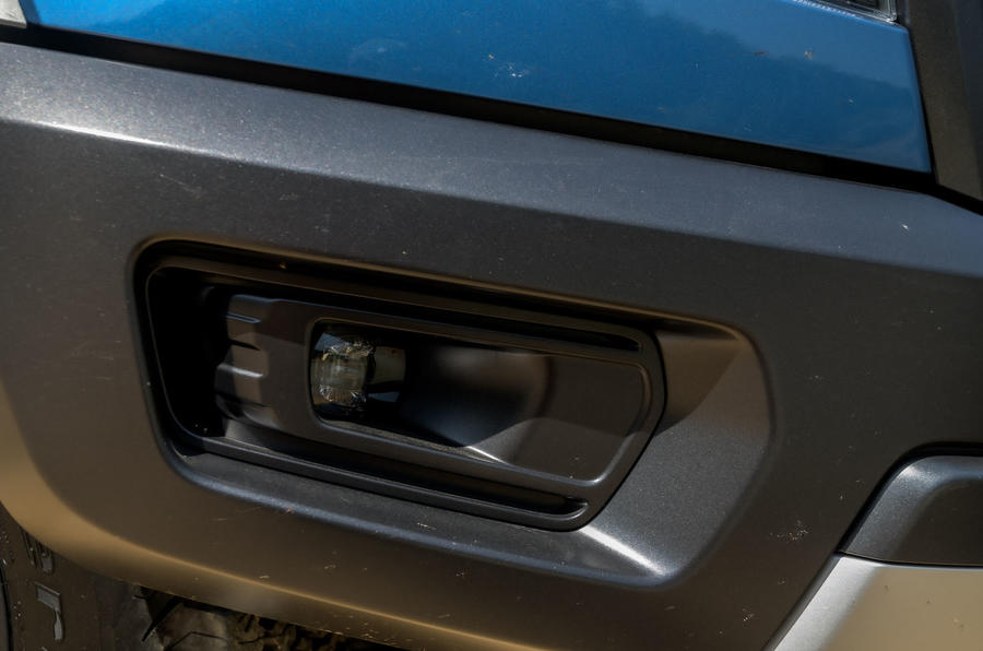 Ford Ranger Raptor 2019 road test review - foglights