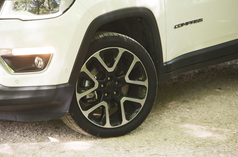 Jeep Compass 2018 road test review - alloy wheels
