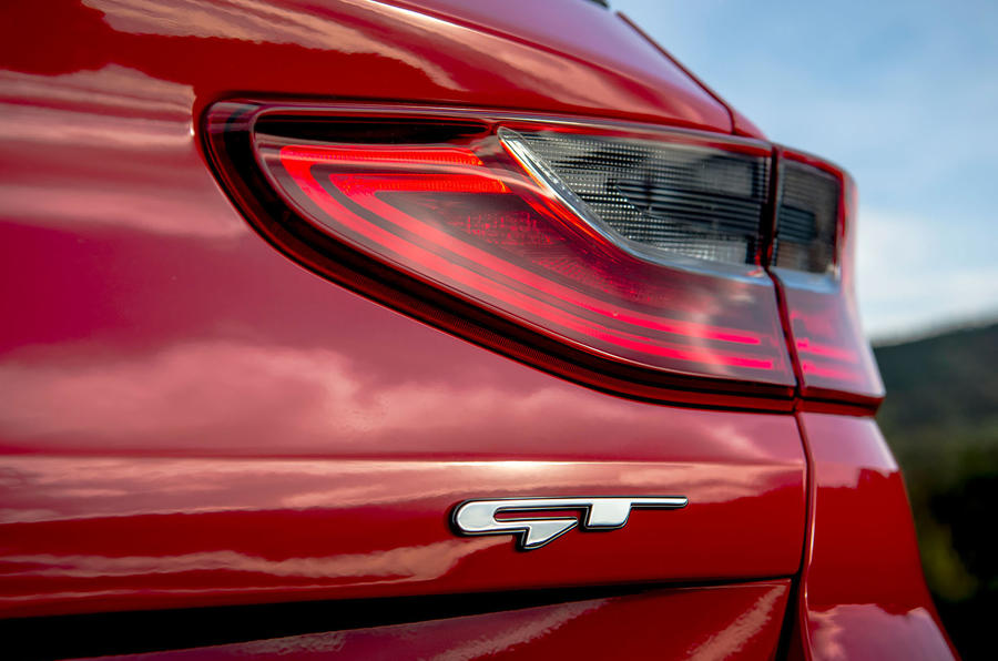 Kia Ceed GT 2019 road test review - rear lights