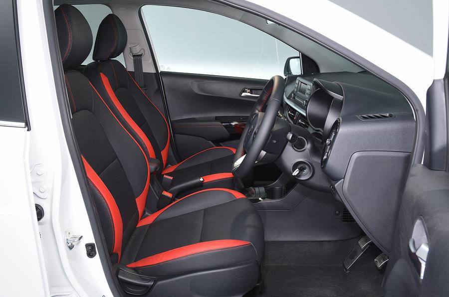 Kia Picanto review interior