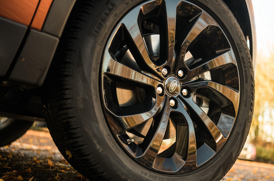 Land Rover Discovery Sport 2020 road test review - alloy wheels