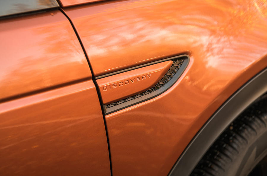 Land Rover Discovery Sport 2020 road test review - front quarter panel