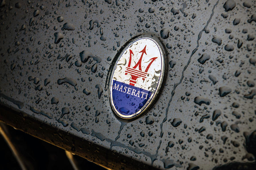 Maserati Levante S GranLusso 2019 road test review - badge