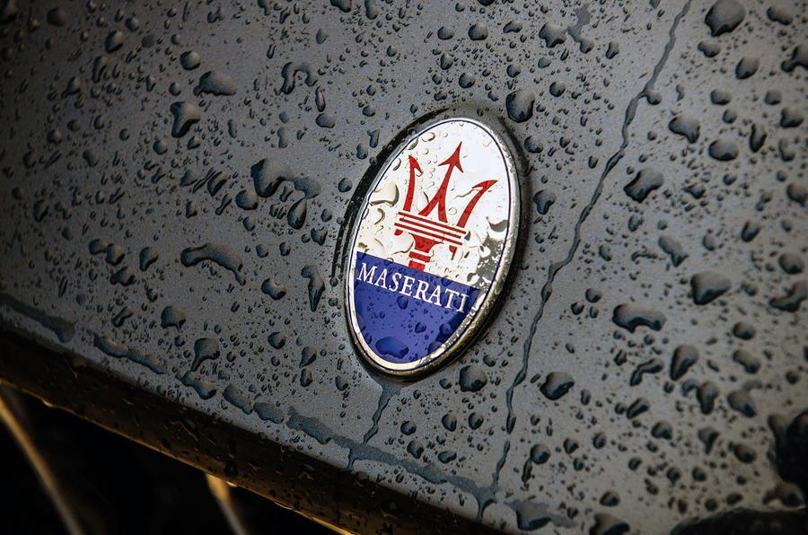Maserati Levante S GranLusso 2019 road test review - badge