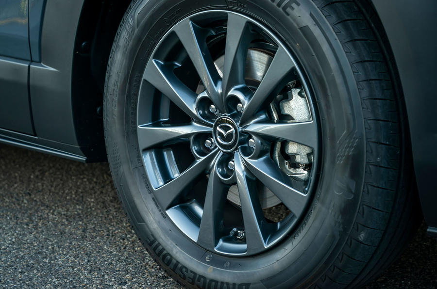 Mazda CX-30 2019 road test review - alloy wheels