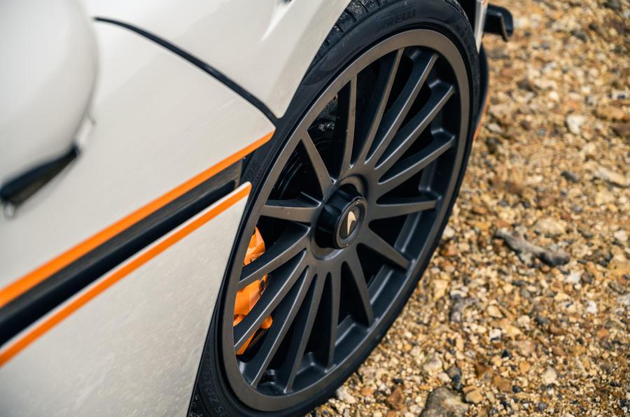 6 McLaren 620R 2021 road test review alloy wheels