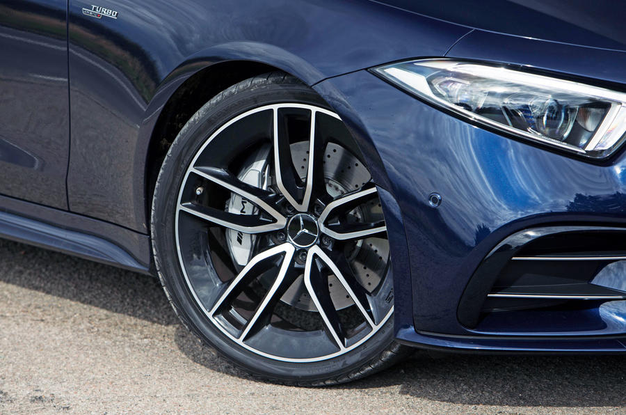 Mercedes-AMG CLS 53 2018 road test review - wheel arches