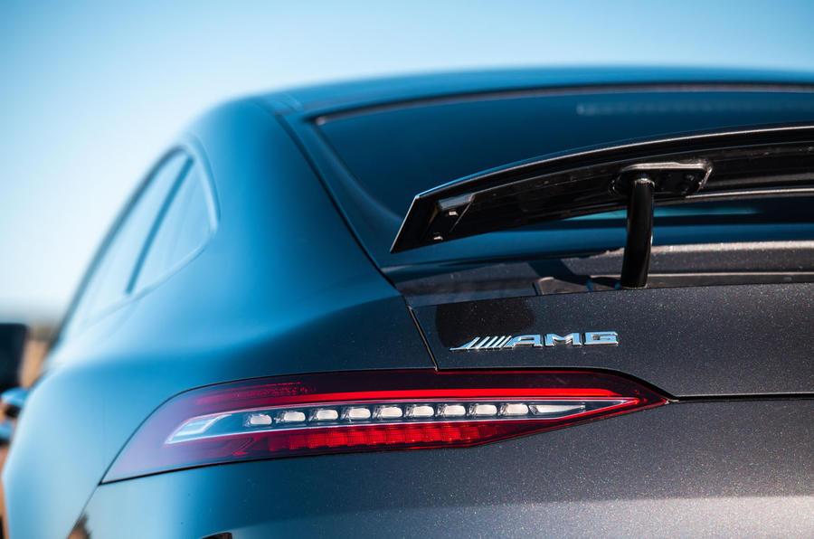 Mercedes-AMG GT four-door Coupé 2019 road test review - rear lights