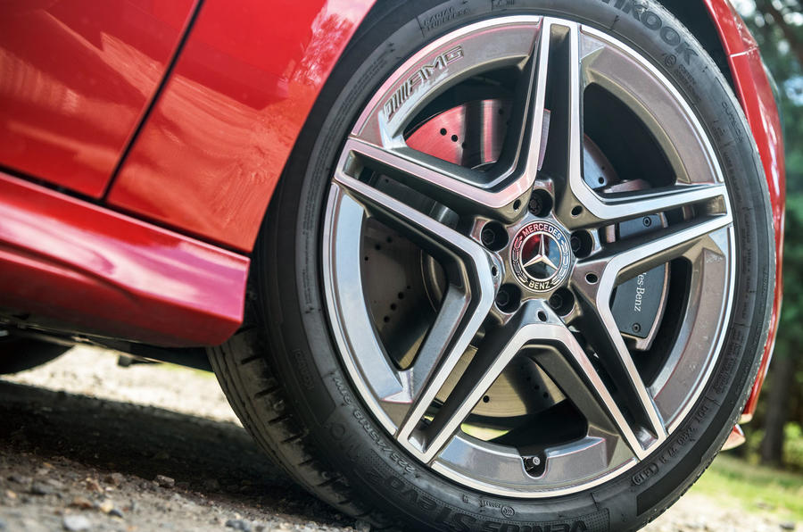 Mercedes-Benz CLA 2019 road test review - alloy wheels