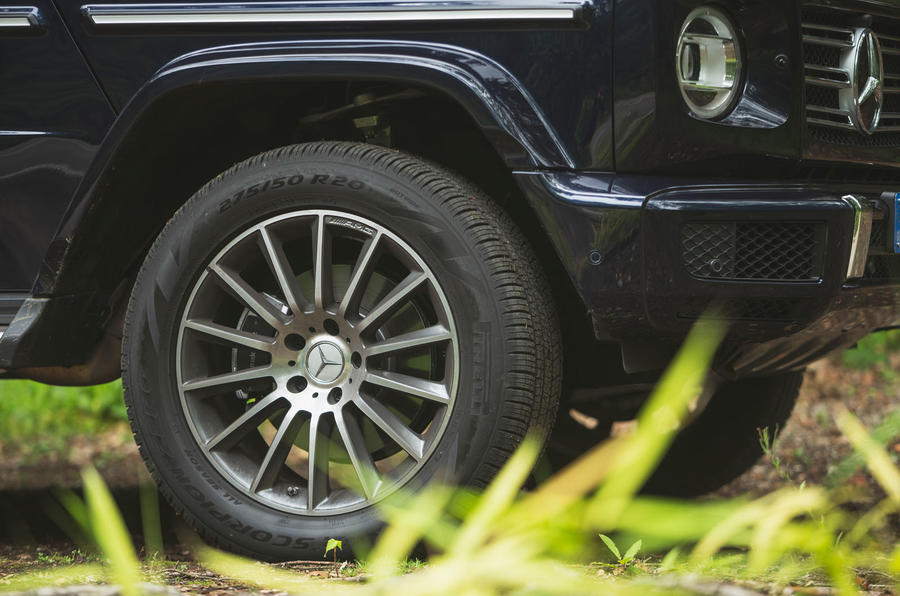 Mercedes-Benz G-Class 2019 road test review - alloy wheels