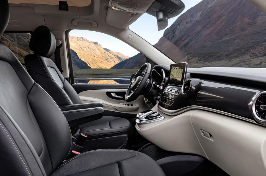 Mercedes-Benz Marco Polo 2019 road test review - cabin