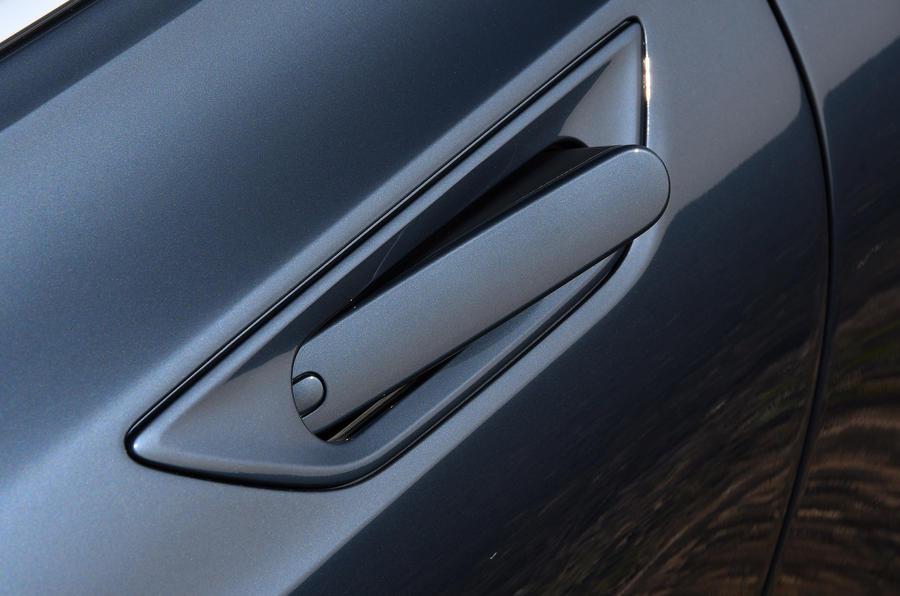 Polestar 1 2020 road test review - door handles