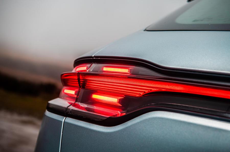 Porsche Macan 2019 road test review - rear lights