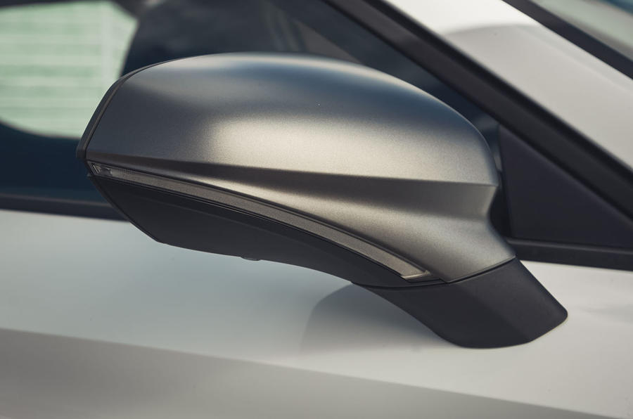 Seat Leon 2020 road test review - wing mirrors