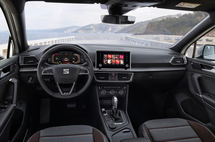 Seat Tarraco 2018 review - dashboard