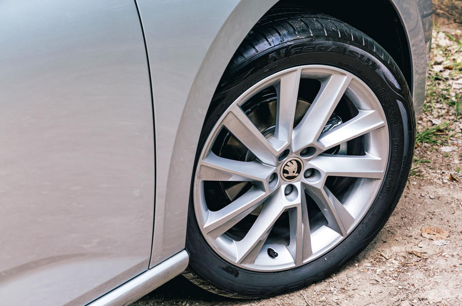 Skoda Scala 2019 road test review - alloy wheels