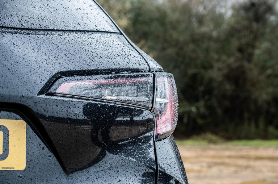 Toyota Corolla Touring Sports 2019 road test review - rear lights