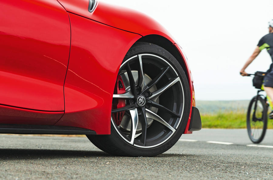 Toyota GR Supra 2019 road test review - alloy wheels