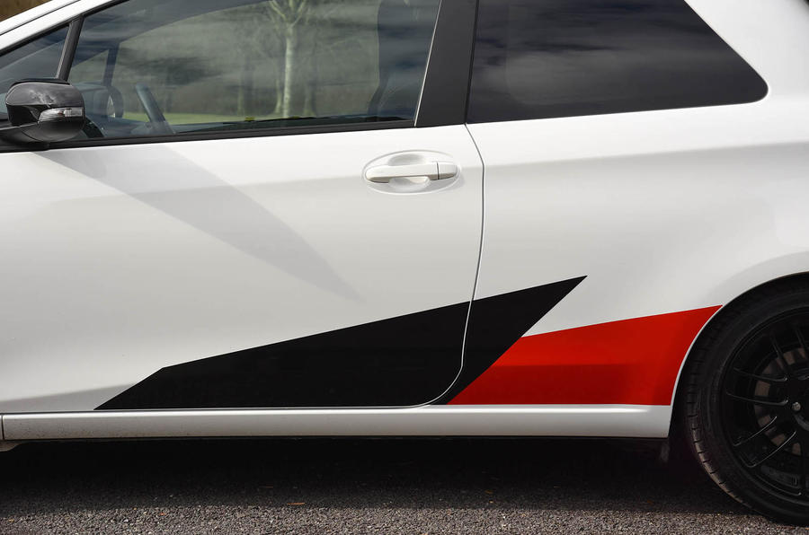 Toyota Yaris GRMN side decals