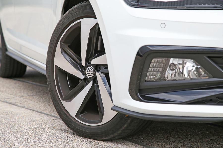 Volkswagen Polo GTI 2018 road test review alloy wheels