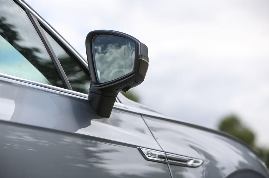 Volkswagen Touareg 2018 road test review wing mirrors