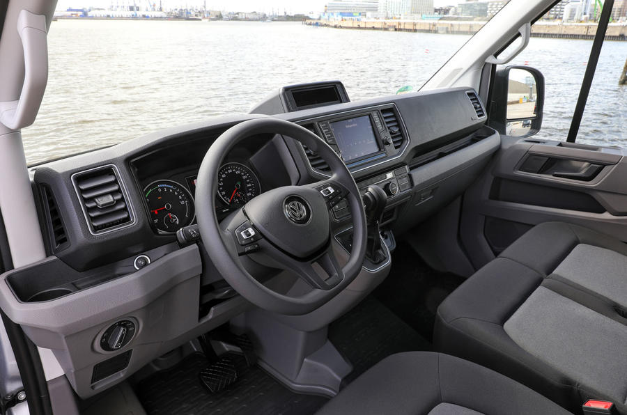 Volkswagen e-Crafter 2018 review - dashboard