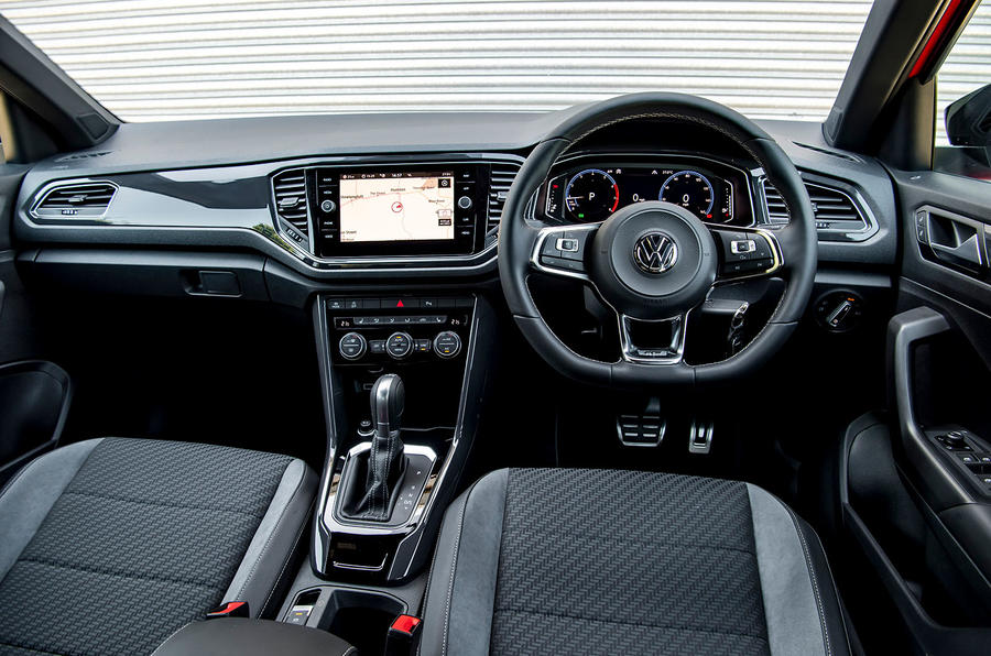 Volkswagen T-Roc 2019 road test review - dashboard