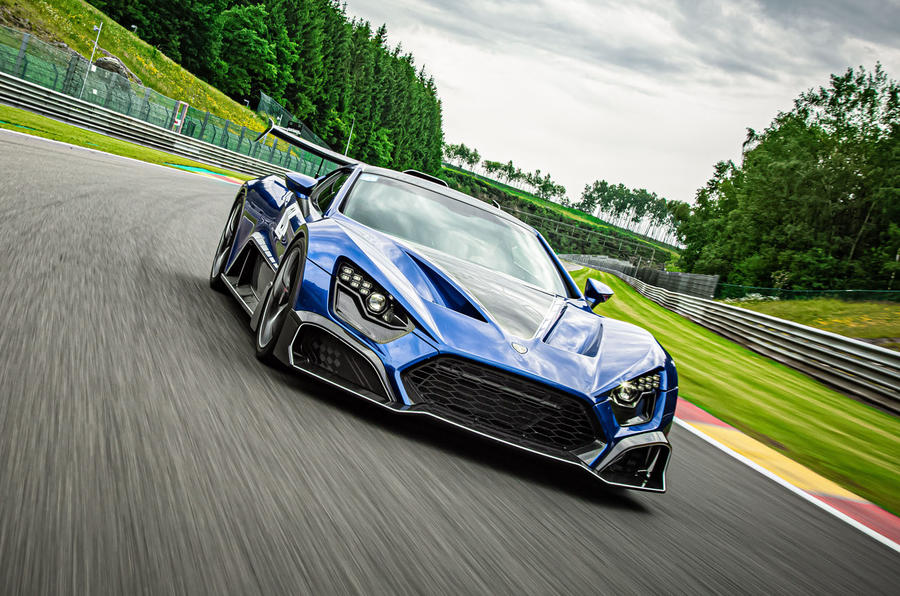 Zenvo TSR-S 2020 road test review - track