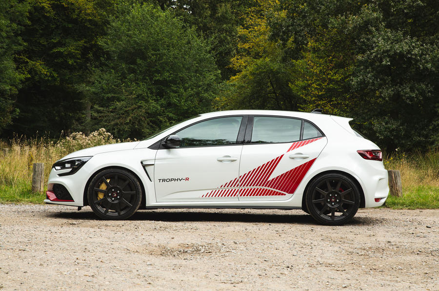 Renault Megane RS Trophy-R 2019 road test review - static